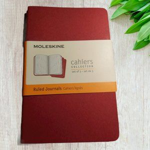🎁 FREE w/ Purchase   Moleskine Ruled Journals